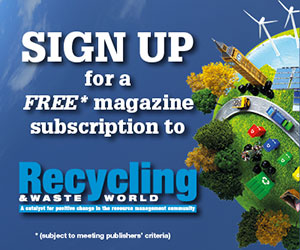 Register for Recycling Waste World